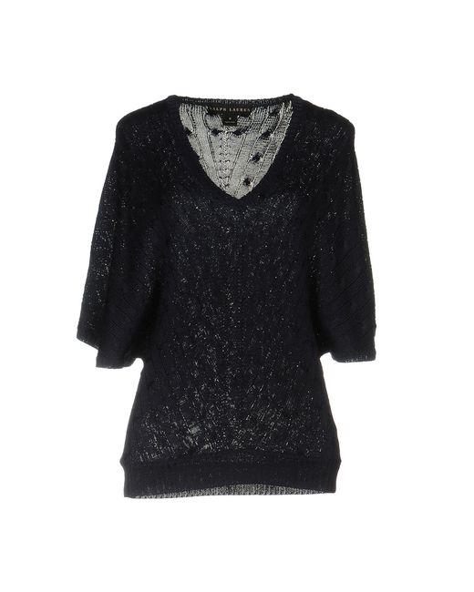Ralph Lauren Black Label | Blue Sweater | Lyst