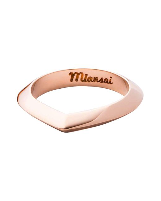 Miansai - Pink Ring - Lyst