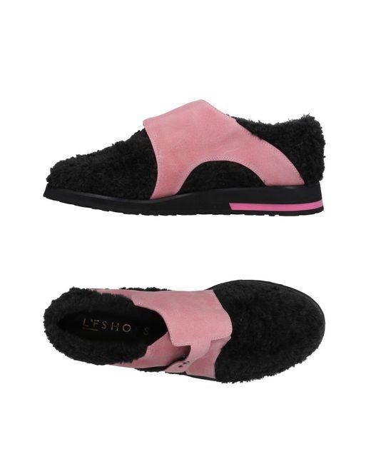 L'f Shoes - Black Loafer - Lyst