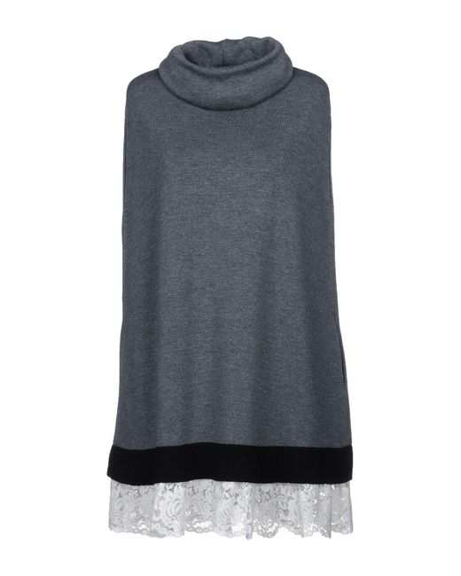 Philosophy Di Lorenzo Serafini - Gray Short Dress - Lyst