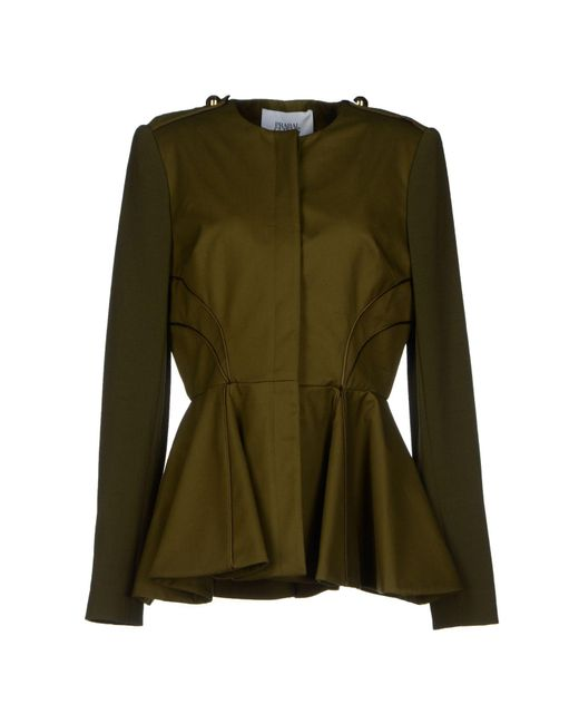 Prabal Gurung - Green Blazer - Lyst