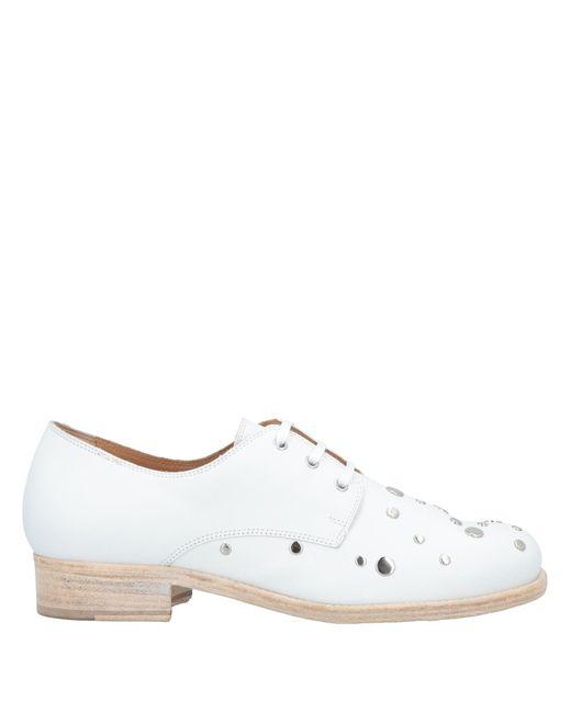 Alberto Fermani - White Lace-up Shoe - Lyst