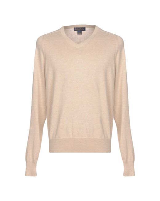 Brooks Brothers Natural Sweater for men