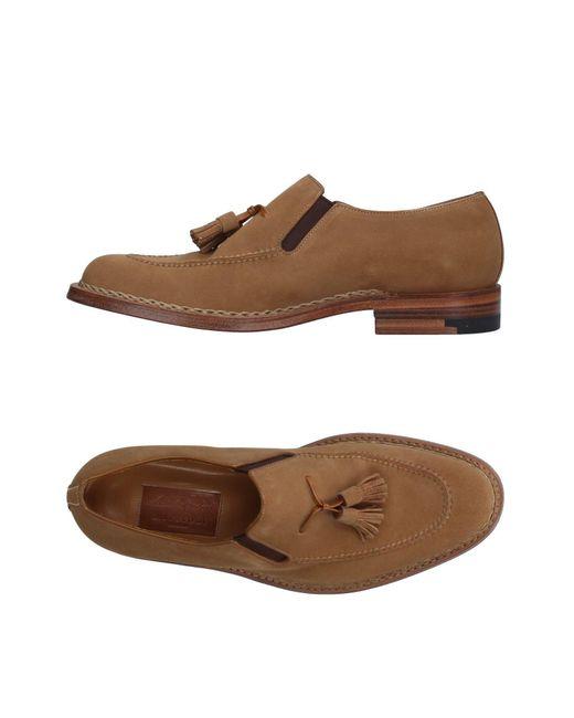 A.Testoni - Brown Loafer for Men - Lyst