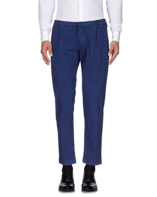 Entre Amis | Blue Casual Pants for Men | Lyst
