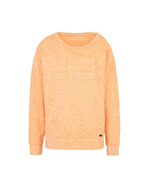 Napapijri | Orange T-shirt | Lyst
