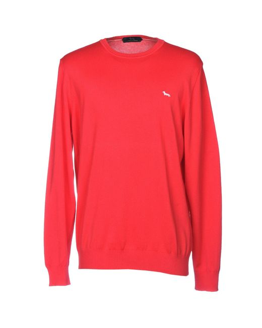 Harmont & Blaine - Red Sweaters for Men - Lyst