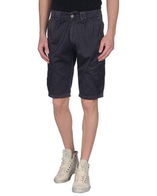 Dondup - Blue Bermuda Shorts for Men - Lyst