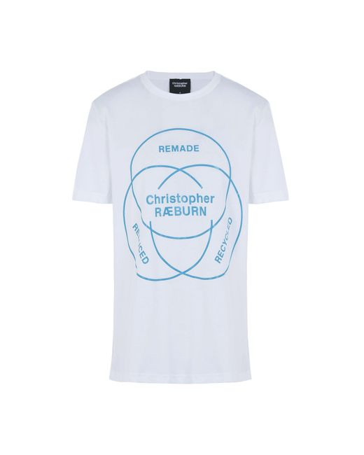 Christopher Raeburn - White T-shirt for Men - Lyst