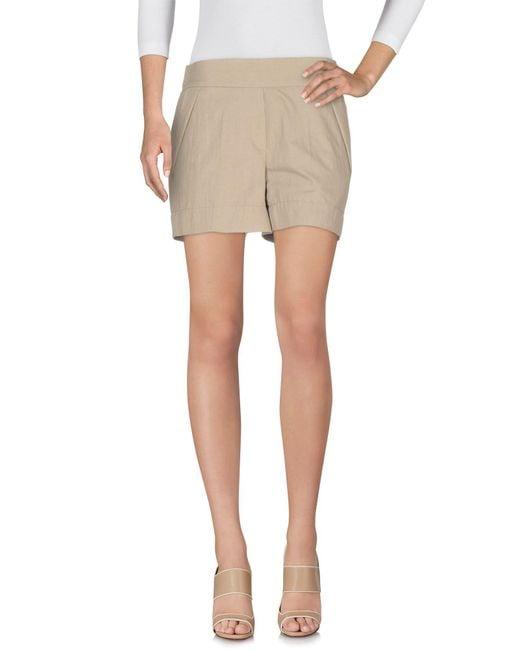 Brunello Cucinelli Natural Shorts