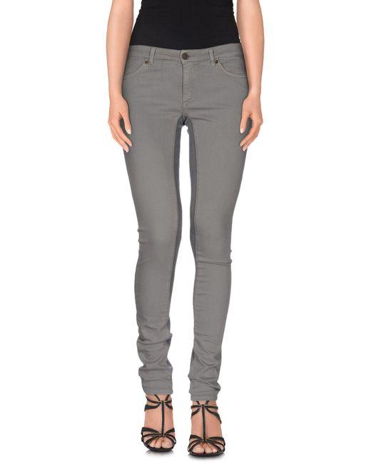 Superfine - Gray Denim Trousers - Lyst