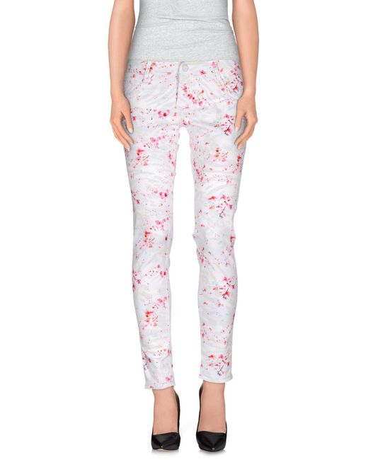 Nine:inthe:morning - White Casual Trouser - Lyst