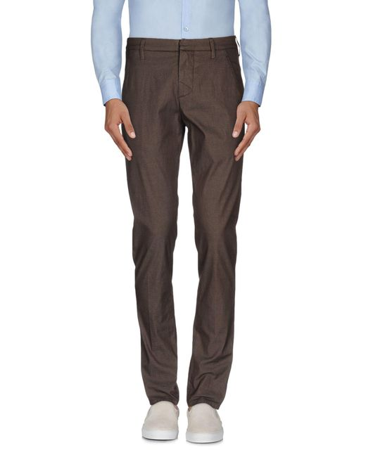 Dondup - Brown Casual Pants for Men - Lyst