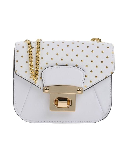 Ab Asia Bellucci - White Cross-body Bags - Lyst