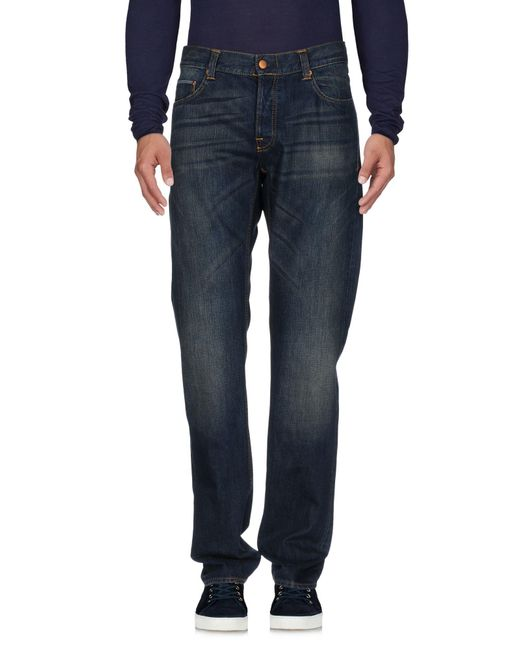 Care Label - Blue Denim Pants for Men - Lyst