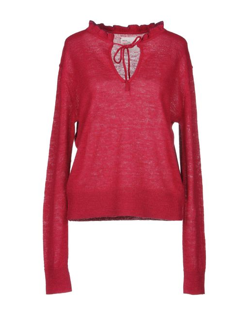 Leon & Harper - Red Jumper - Lyst