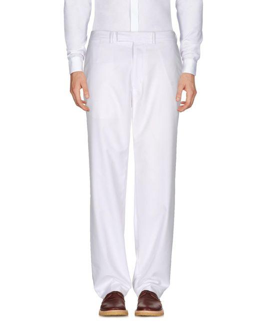 RLX Ralph Lauren - White Casual Trouser for Men - Lyst