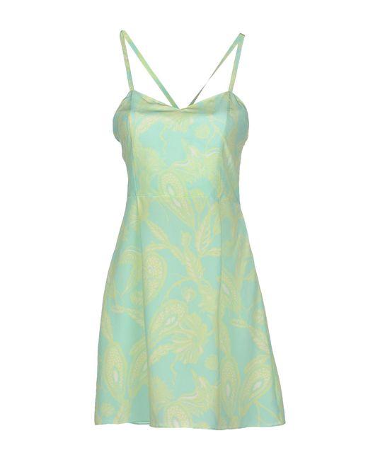 Matthew Williamson | Green Short Dress | Lyst