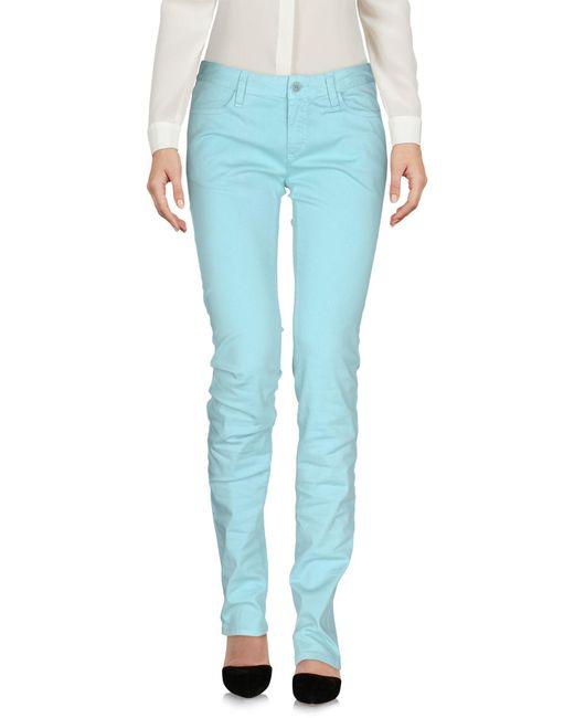 Aspesi - Blue Casual Pants - Lyst