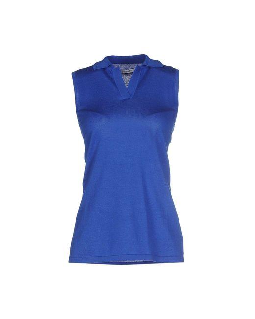 Gentry Portofino - Blue Sweaters - Lyst