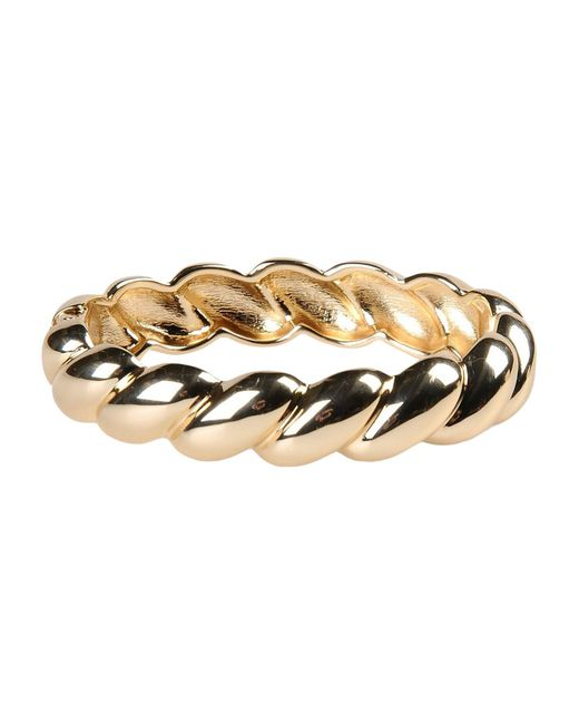 Kenneth Jay Lane Metallic Bracelet