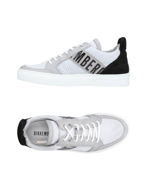 Bikkembergs - Gray Low-tops & Sneakers for Men - Lyst