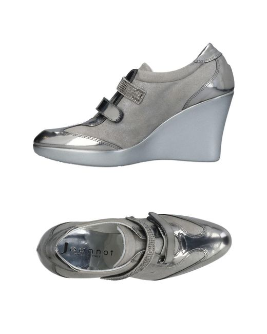 Jeannot - Gray Low-tops & Sneakers - Lyst