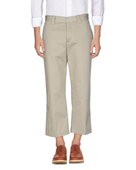 Stussy - Natural Casual Pants for Men - Lyst