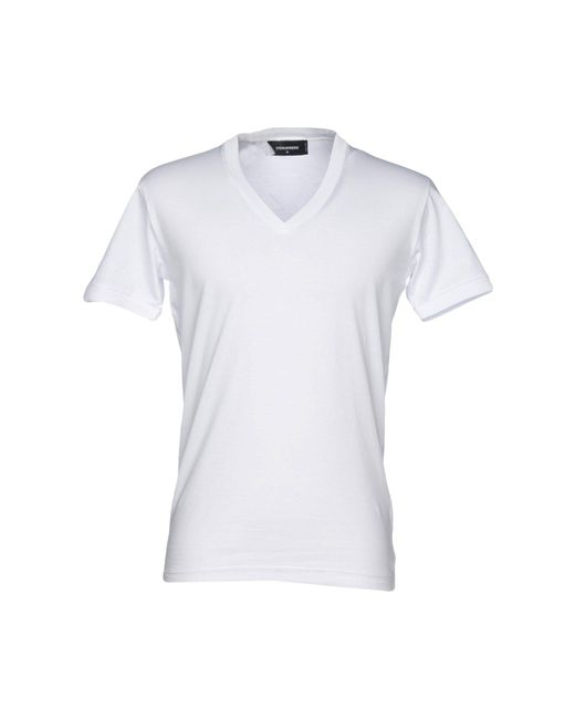 DSquared² - White T-shirt for Men - Lyst