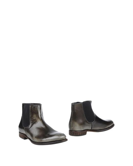 N.d.c. Made By Hand | Green Ankle Boots | Lyst