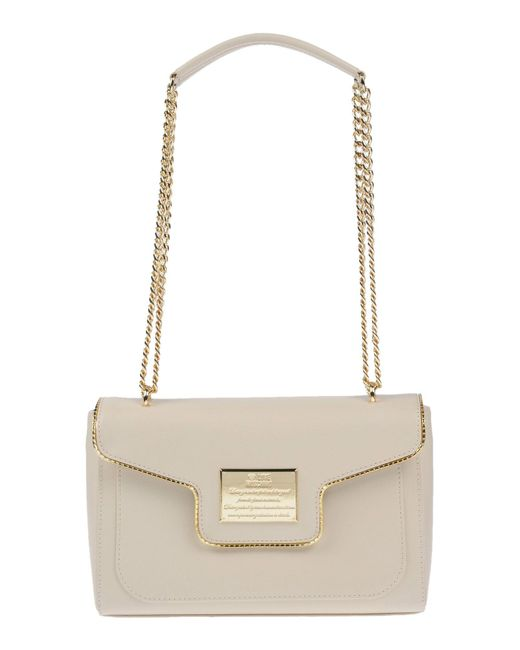 Love Moschino - White Shoulder Bags - Lyst