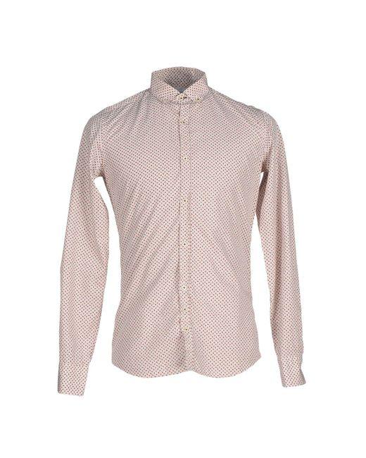 Aglini - White Shirts for Men - Lyst