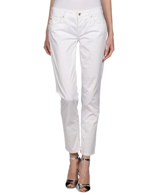 Ajay - White Casual Pants - Lyst