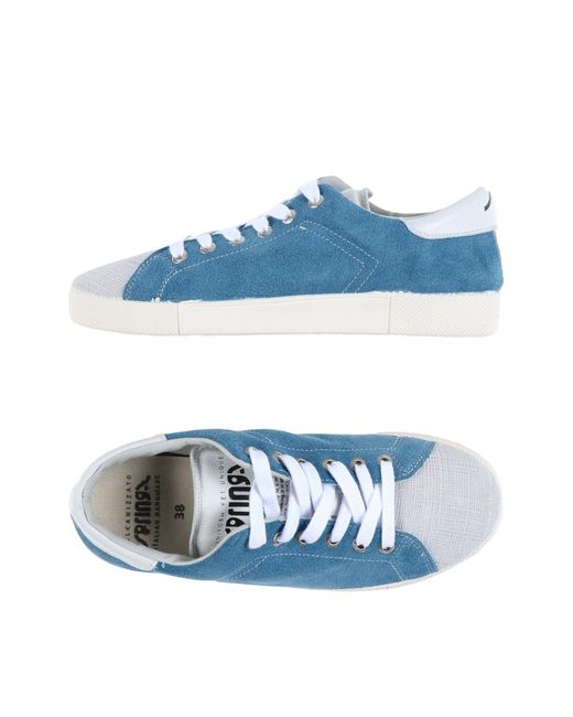 Springa | Blue Low-tops & Sneakers | Lyst