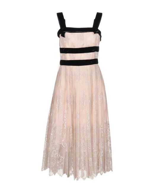 Philosophy Di Lorenzo Serafini - Pink Knee-length Dress - Lyst