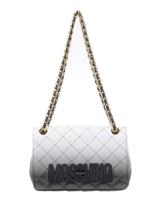 Moschino - Black Shoulder Bag - Lyst