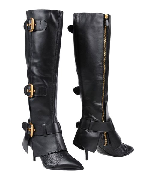 Moschino - Black Boots - Lyst