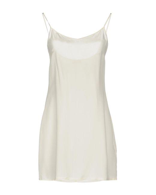 Ermanno Scervino - White Short Dresses - Lyst