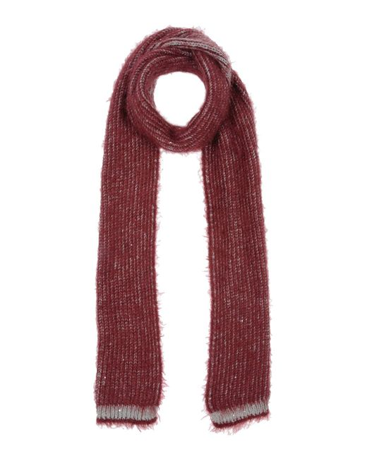 Manila Grace - Red Oblong Scarf - Lyst