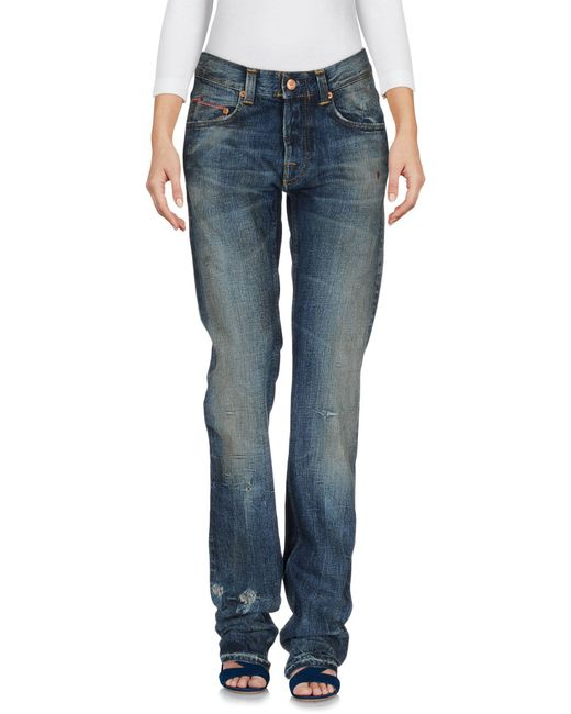 Care Label - Blue Denim Pants - Lyst