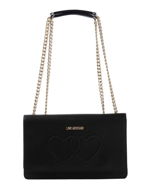 Love Moschino - Black Shoulder Bags - Lyst