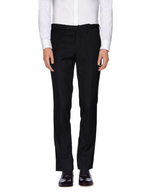 Incotex - Black Casual Pants for Men - Lyst