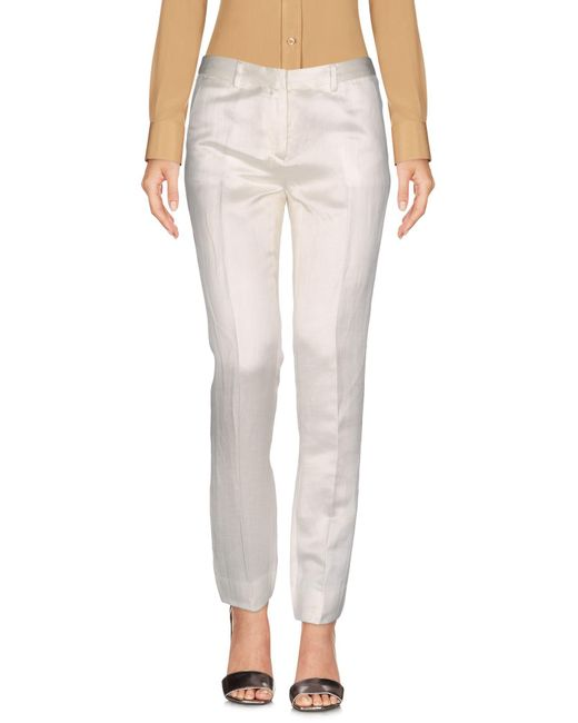 Mauro Grifoni | White Casual Pants | Lyst