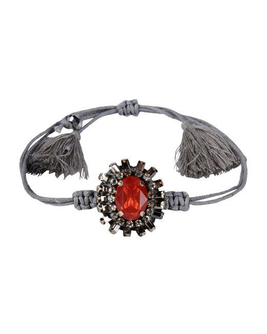 Deepa Gurnani - Gray Bracelets - Lyst