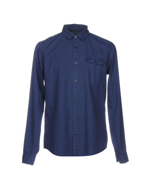 Calvin Klein - Blue Shirt for Men - Lyst