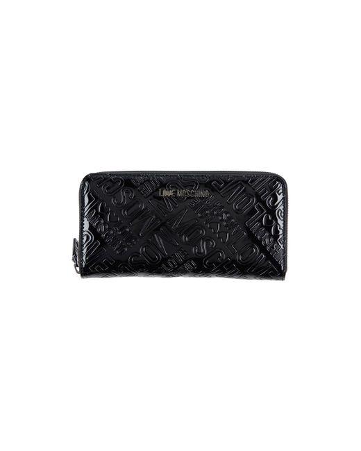 Love Moschino - Black Wallet - Lyst