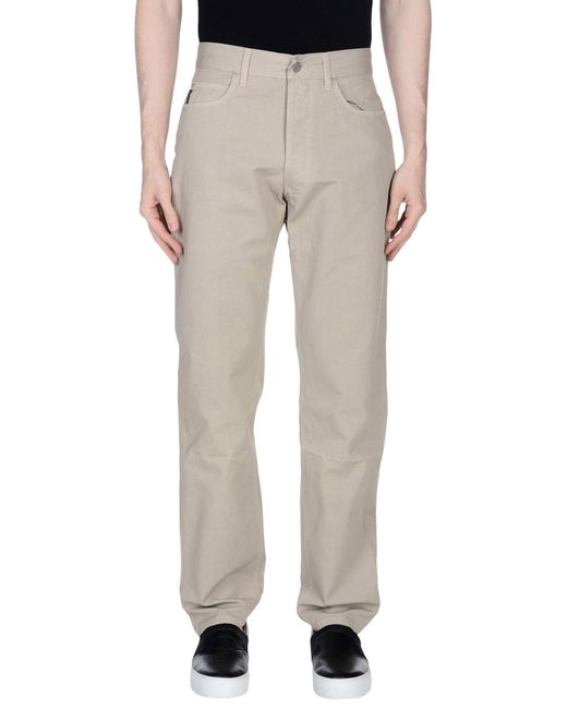 Armani Jeans - Natural Casual Pants for Men - Lyst