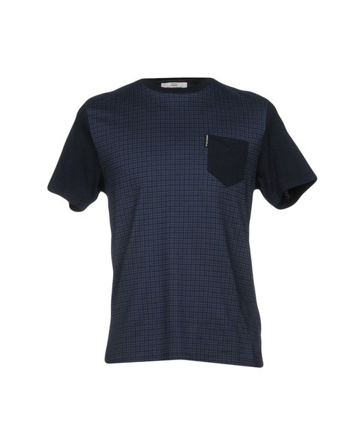 Ben Sherman - Blue T-shirt for Men - Lyst