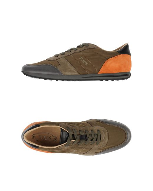 Tod's - Natural Low-tops & Sneakers for Men - Lyst