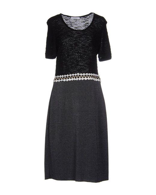 Stizzoli - Black Knee-length Dress - Lyst